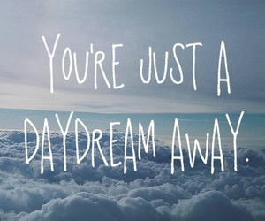 air, daydream, and quote image