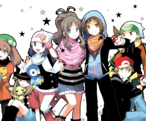 pokemon, red, and friends image