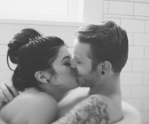 bath, happy, and cute image