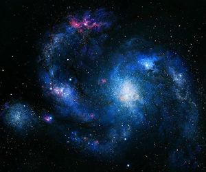 galaxy, space, and tumblr image