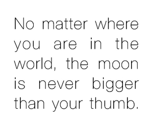 moon and quote image