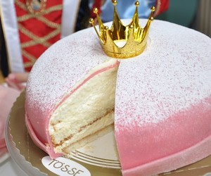pink, cake, and princess image