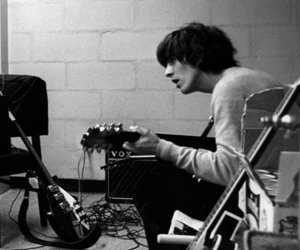 george harrison, guitar, and rock image
