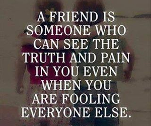 friends, quotes, and pain image