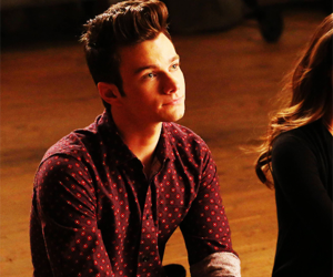 glee, chris colfer, and kurt hummels image