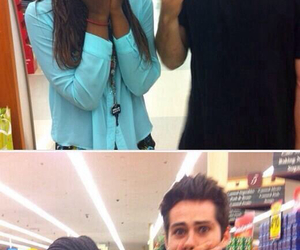 dylan o'brien, teen wolf, and fan image