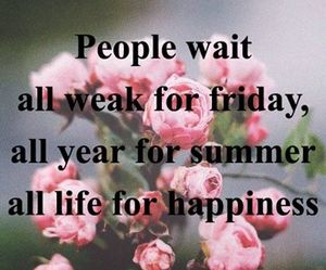 summer, friday, and happines image