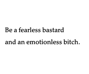 quote, bitch, and fearless image