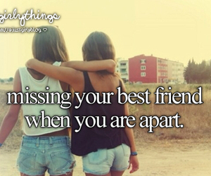 best friends, friends, and just girly things image