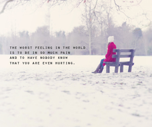 girl, quote, and winter image