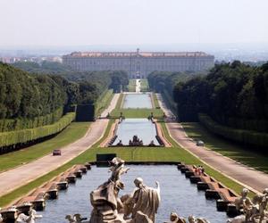 beautiful, garden, and palace image