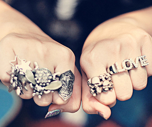 rings, love, and girly image