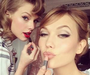 Taylor Swift, Karlie Kloss, and model image