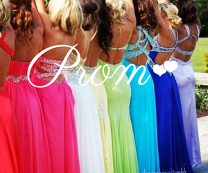 colorful, dresses, and fun image