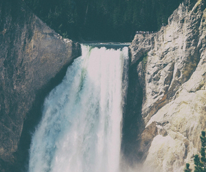 awesome., waterfall, and photography. image
