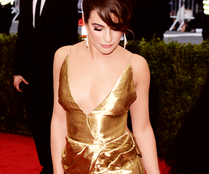 lea michele and met gala image
