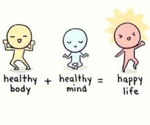 happy, healthy, and life image