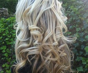 blond, girl, and lindo image