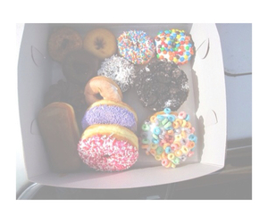 donuts, food, and color image