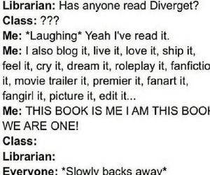 fandom, book, and fangirl image