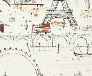 paris, london, and wallpaper image