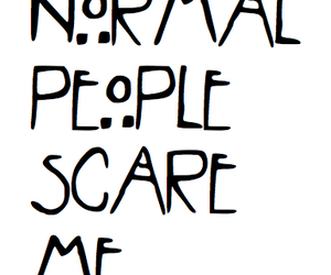 normal, people, and ahs image