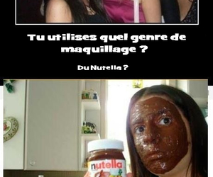nutella, mdr, and fond de teint image