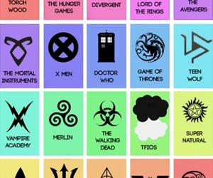 dr who, harry potter, and mortal instruments image