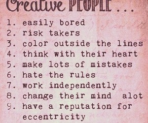 creative, people, and quotes image