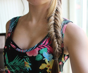 hair, braid, and quality image
