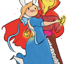 adventure time, fionna, and flame prince image