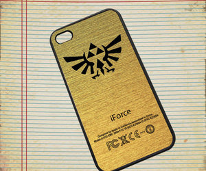 gold, triforce, and samsung galaxy s3 s4 case image