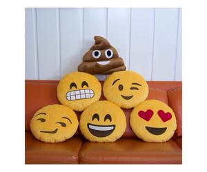 pillows, emoji, and emojis image