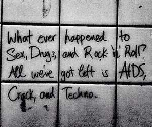 drugs, quote, and rock image
