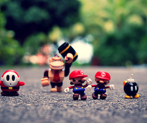 mario, super mario, and toys image