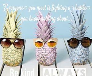 pineapple, quote, and summer image