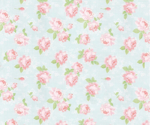 background, floral, and iphone image