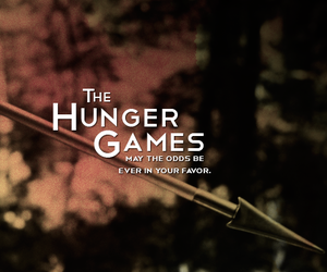 peeta mellark, katniss everdeen, and the hunger games image