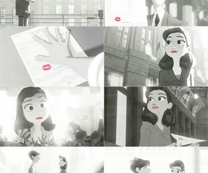 kiss, paperman, and love image