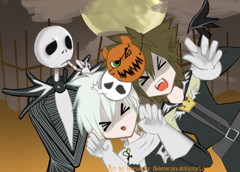 Nightmare Before Christmas Sora.Danny Sora And Jack Danny Phantom Fan Art 6471248 Fanpop