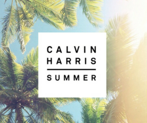 summer, calvin harris, and music image