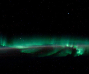 aurora borealis, boreal, and northern lights image