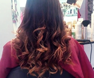 brown, fashion, and ombre image