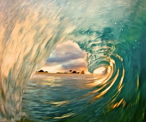 summer, sun, and waves image