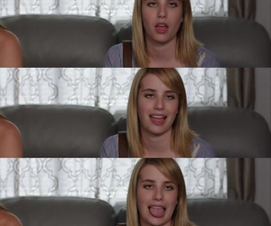 emma, Roberts, and funny image