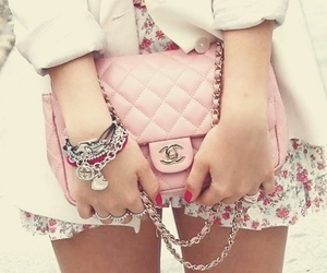 accessories, chanel, and glamour image
