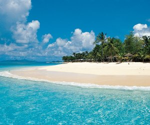 beach, Island, and paradise image