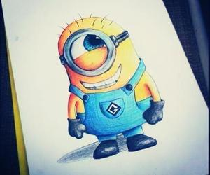 3D art, draw, and dispicable me image