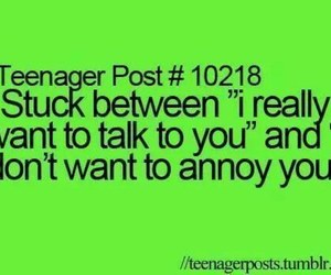 teenager post, quote, and talk image