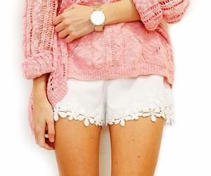 fashion, shorts, and girl image